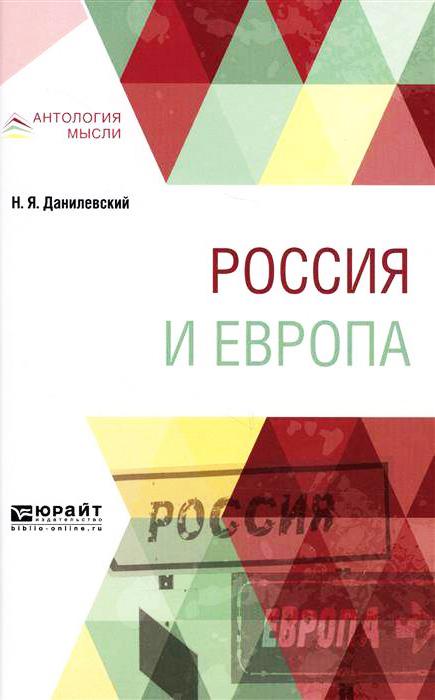 Николай Данилевский «Россия и Европа»